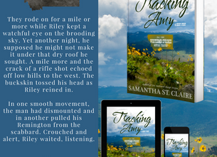 """""""Tracking Amy"""" and a Visit with Samantha St. Claire ~ Whitcomb Springs Series"""