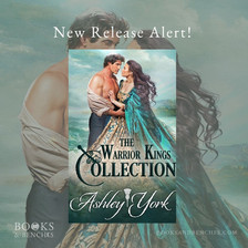 New Release - THE WARRIOR KINGS COLLECTION by Ashley York