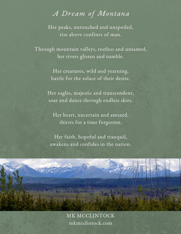 Dream of Montana_poem_MK McClintock