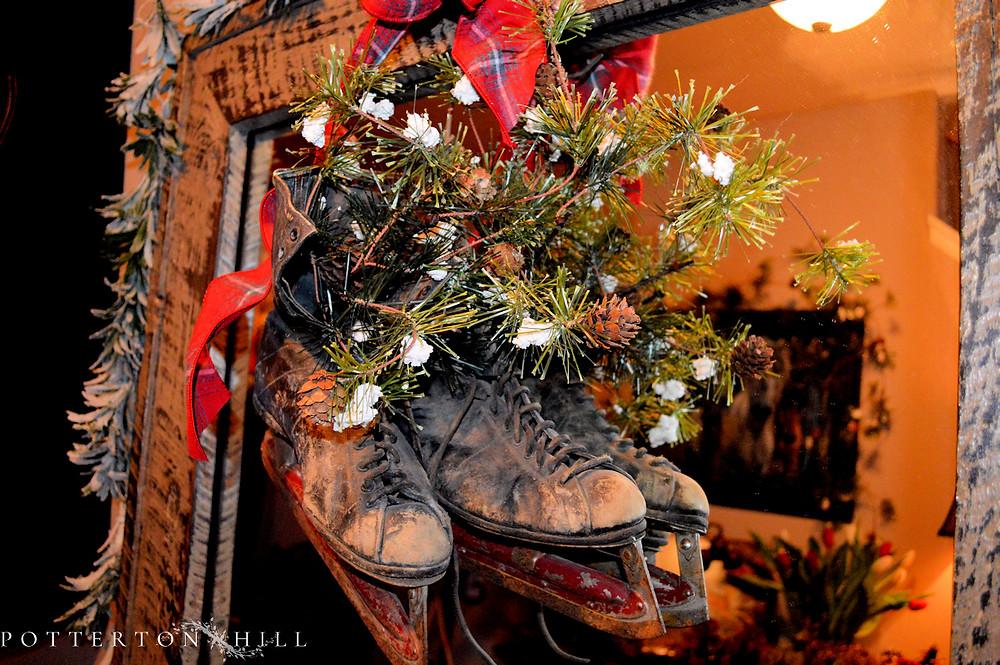 Christmas is Coming_PottertonHill.com_Christmas skates