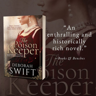 THE POISON KEEPER by Deborah Swift - A Reader's Opinion