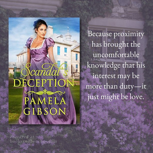 """SCANDAL'S DECEPTION by Pamela Gibson - Interview - """"Engaging"""""""