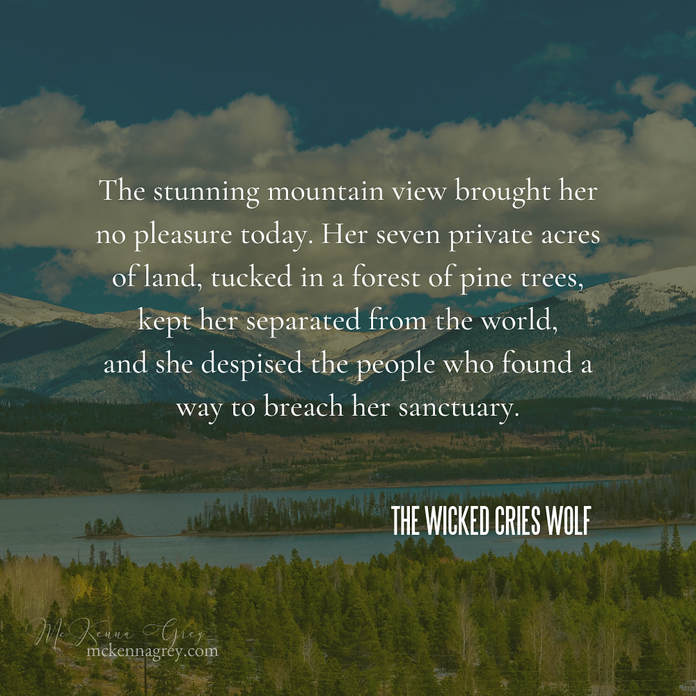 The Wicked Cries Wolf by McKenna Grey - Book Excerpt