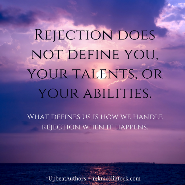 Positive Rejection ~ #UpbeatAuthors