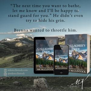 Gallagher's Pride by MK McClintock_historical western romance novel