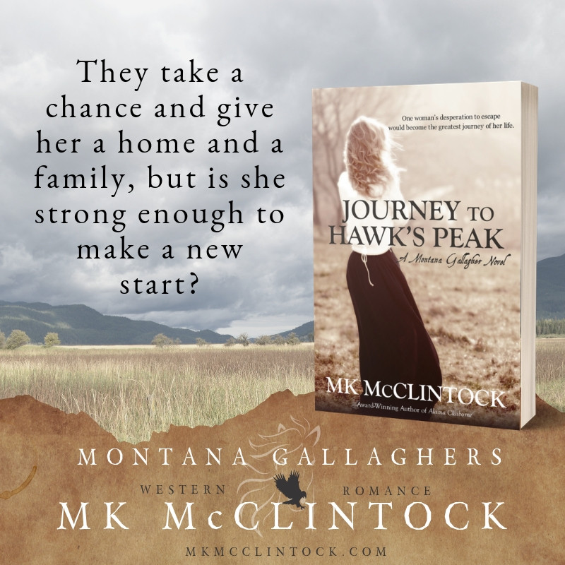 Journey to Hawks Peak by MK McClintock | #historicalwesternromance #westernfiction