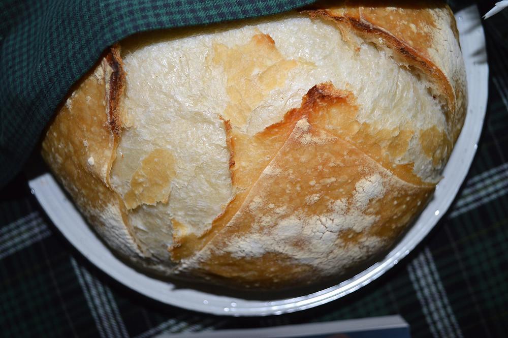 Dutch-Oven Sourdough Bread - MK McClintock - Writer in the Kitchen