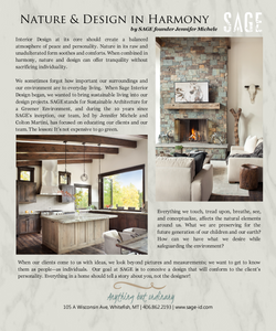 Nature & Design in Harmony - SAGE Interior Design - Whitefish, MT