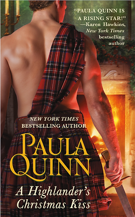 A Highlander's Christmas Kiss by Paula Quinn