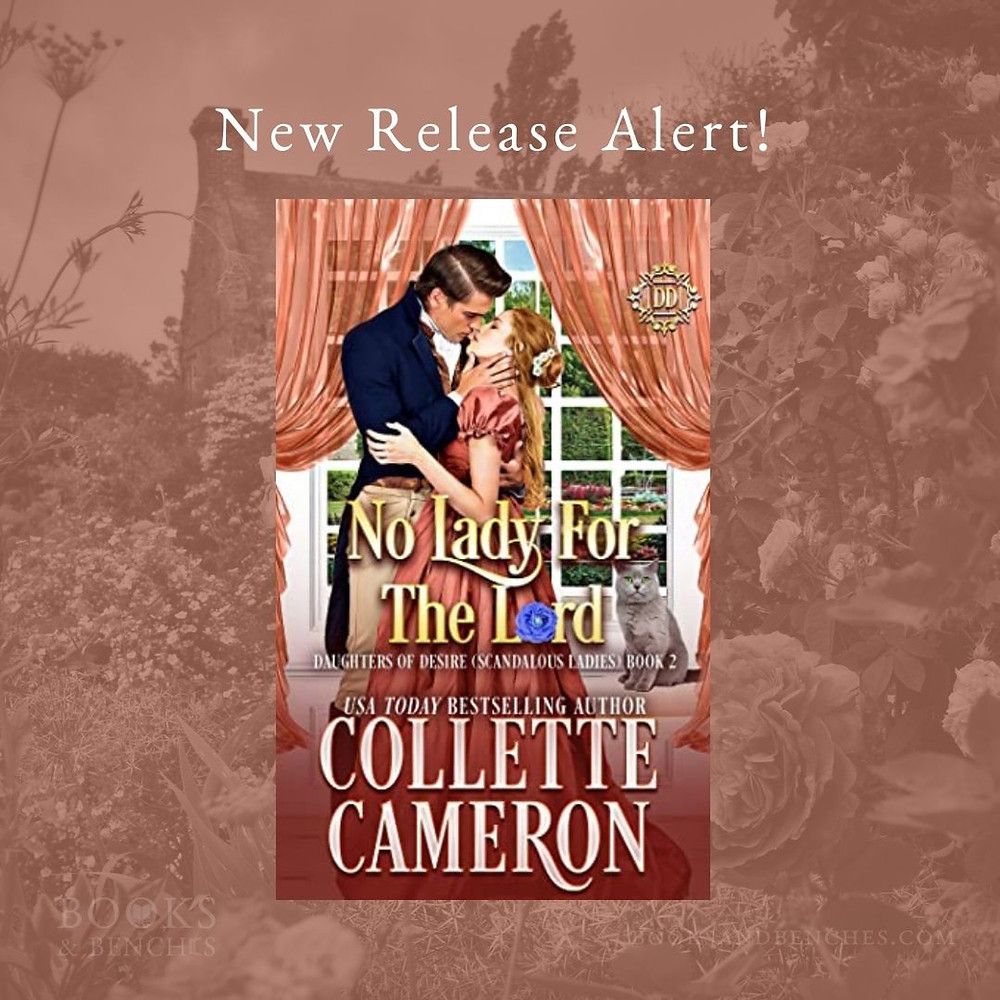 No Lady for the Lord by Collette Cameron_New Release