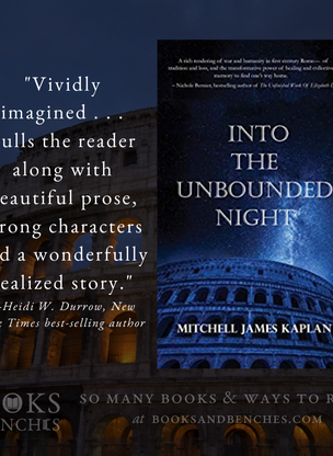 """Vividly Imagined"" - Into the Unbounded Night by Mitchell James Kaplan - Interview"