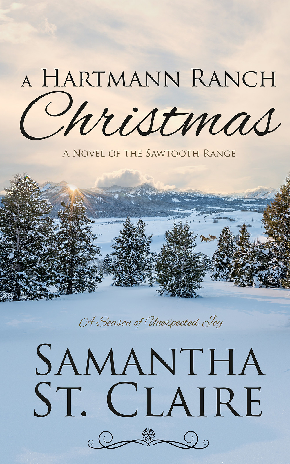 A Hartmann Ranch Christmas by Samantha St. Claire