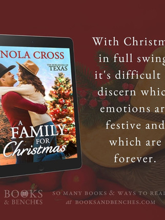 """A Family for Christmas by Nola Cross - """"Genuine Love"""" - Excerpt"""