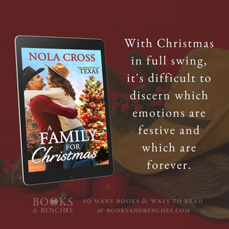 "A Family for Christmas by Nola Cross - ""Genuine Love"" - Excerpt"