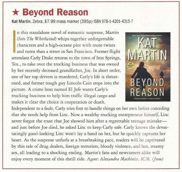 Beyond Reason by Kat Martin