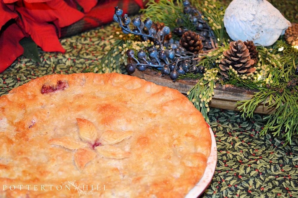 Festive Four-Berry Pie_PottertonHill.com