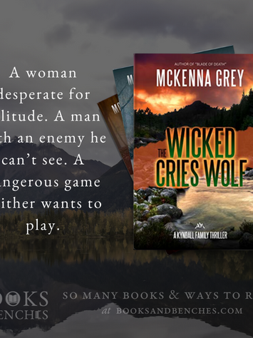 """Holy Smokes"" - The Wicked Cries Wolf by McKenna Grey - Excerpt"