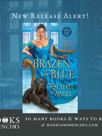 Brazen in Blue by Rachael Miles - New Release