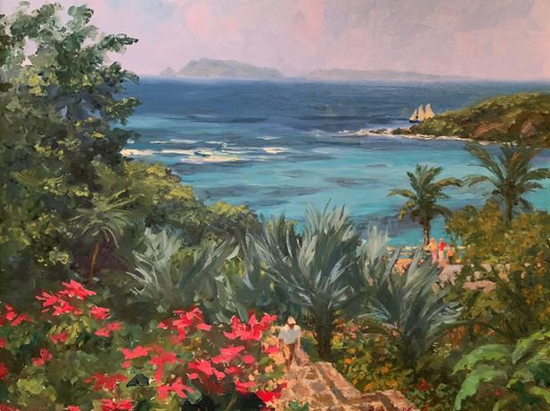 Balliceaux Island from Bequia