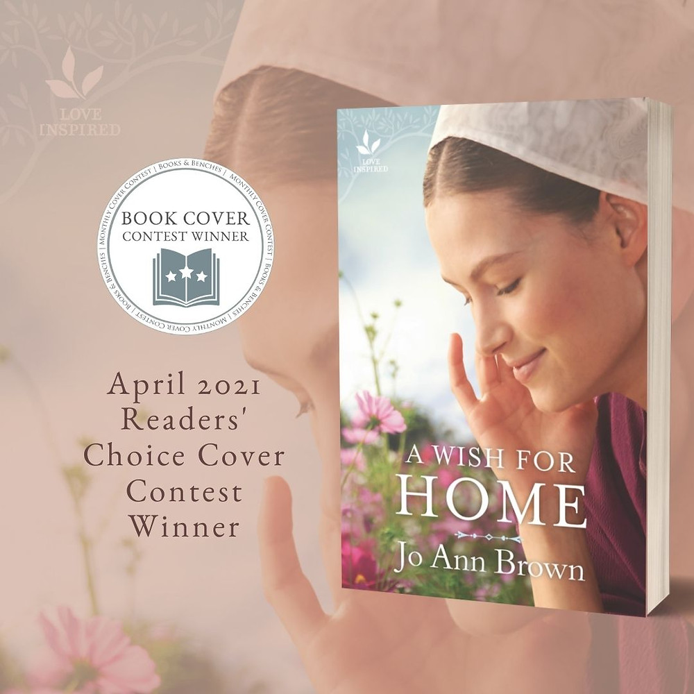 Monthly Cover Contest Winner - April 2021 - Books & Benches blog