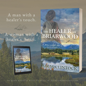 New Release - The Healer of Briarwood by MK McClintock - Excerpt