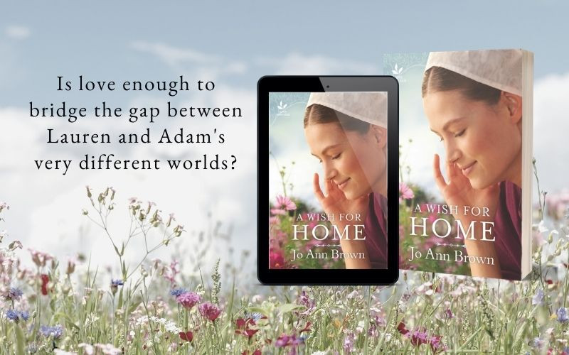 A Wish for Home by Jo Ann Brown - Love Inspired Trade romance from Harlequin