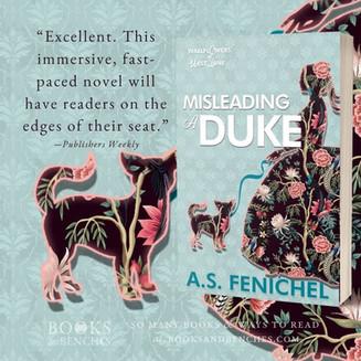 """""""Enchanting"""" - Misleading A Duke by A.S. Fenichel  - Interview + Excerpt"""