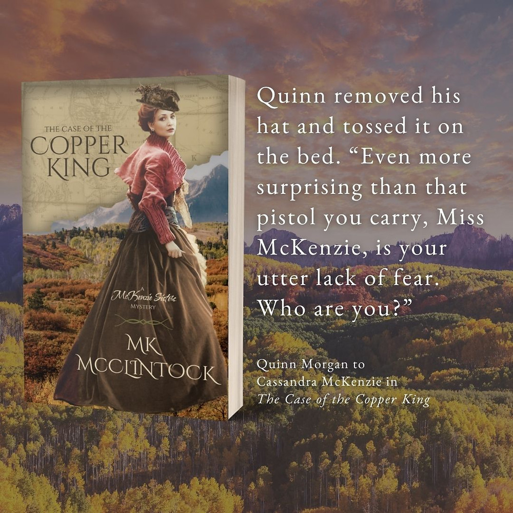 The Case of the Copper King by MK McClintock