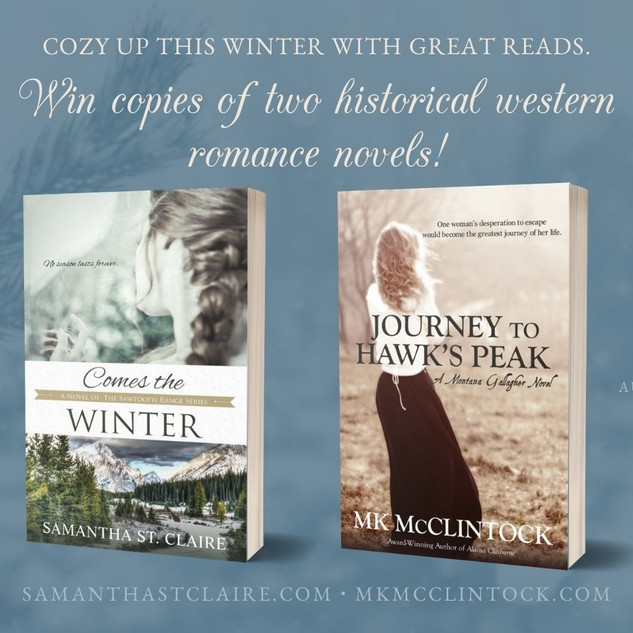 Win 2 Historical Western Romance Novels + Excerpts