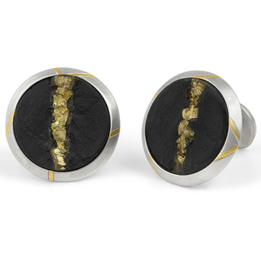 Disc Cuff Links