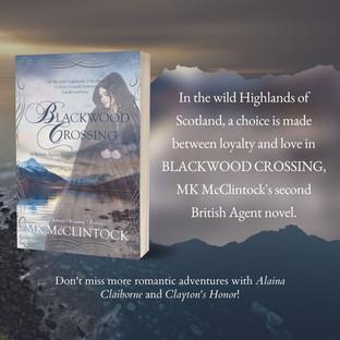"""""""Riveting"""" - Blackwood Crossing by MK McClintock - Excerpt"""
