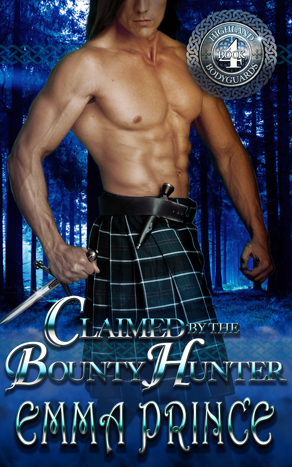 CLAIMED BY THE BOUNTY HUNTER by Emma Prince