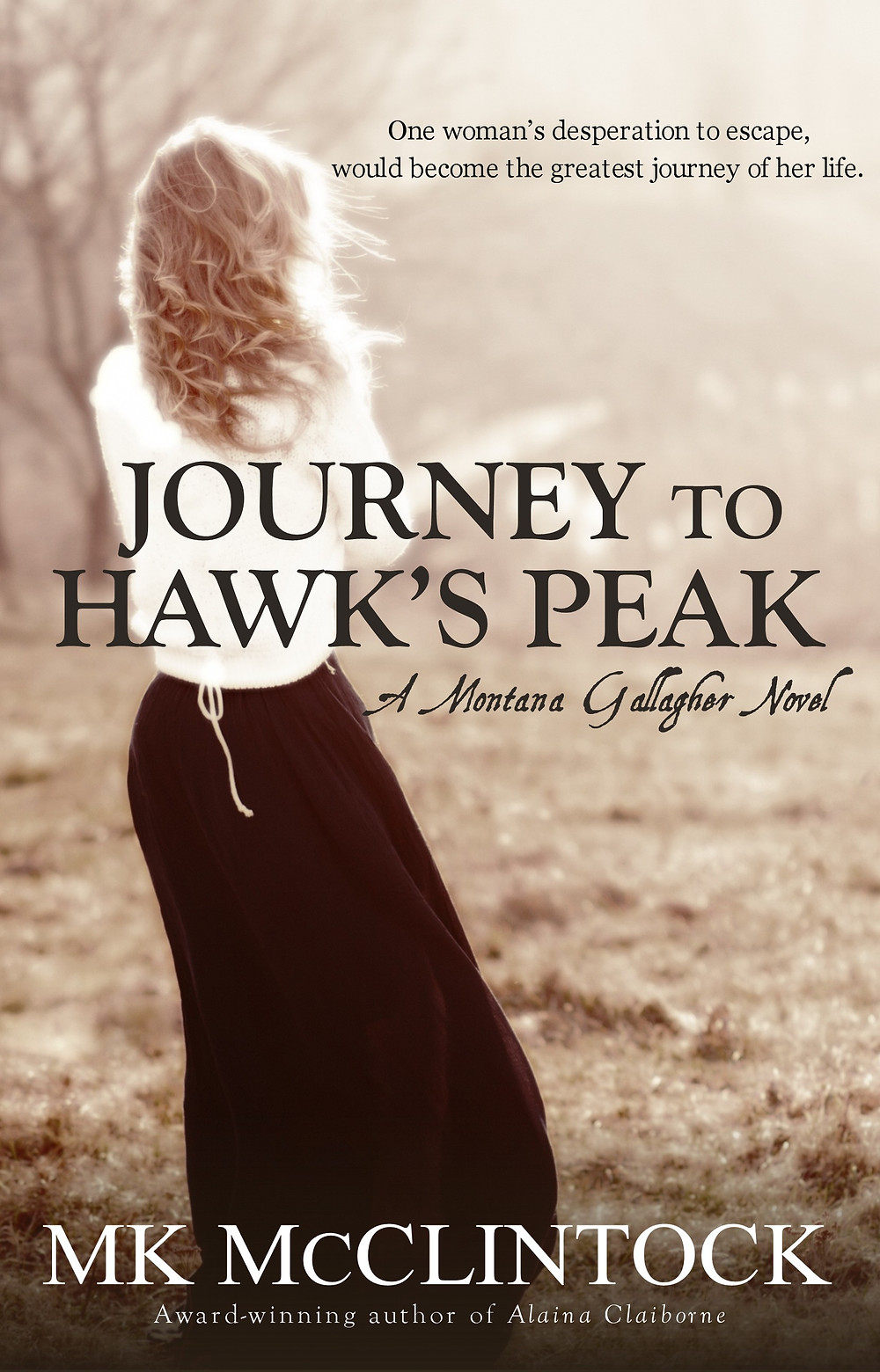 JOURNEY TO HAWK'S PEAK by MK McClintock