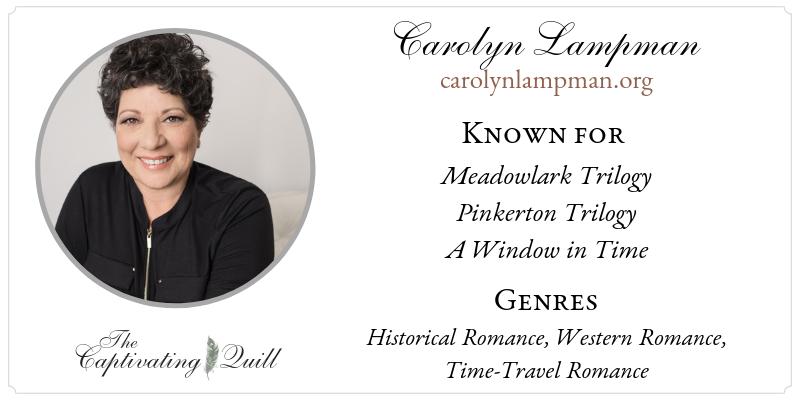 Carolyn Lampman at The Captivating Quill