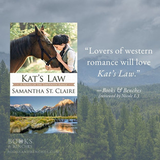 KAT'S LAW by Samantha St. Claire - A Reader's Opinion