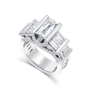 Tycoon Cut Diamond Ring