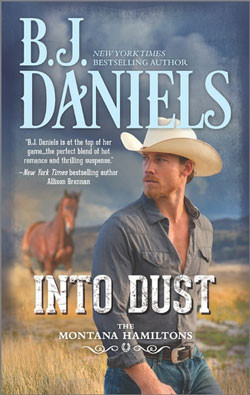 Into Dust by B.J. Daniels at Books & Benches