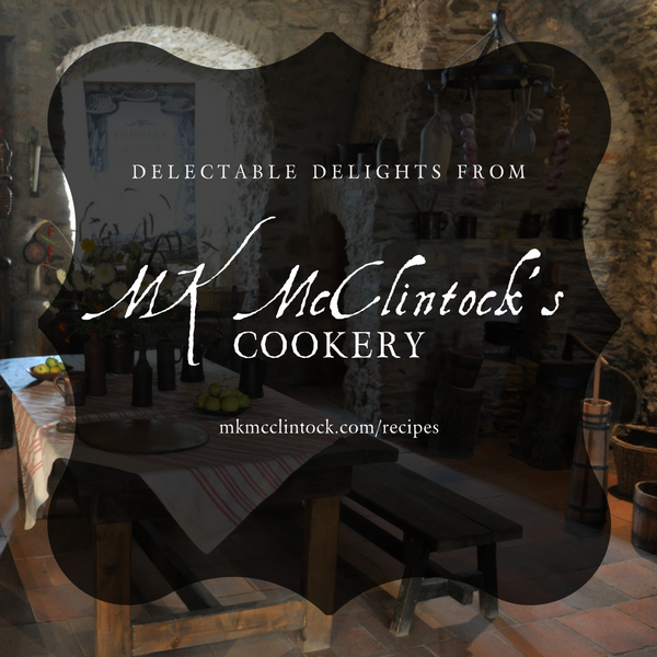 From MK McClintock's Kitchen