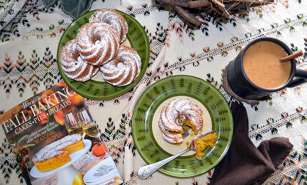 Spiced Pumpkin Cakes - Writer in the Kitchen - MK McClintock