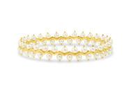 Zig Zag Pearl Bracelet