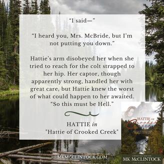 """Excerpt from """"Hattie of Crooked Creek"""""""