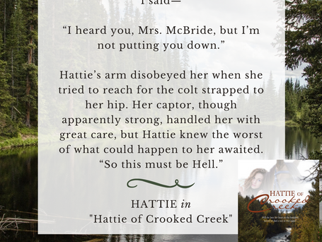 "Excerpt from ""Hattie of Crooked Creek"""