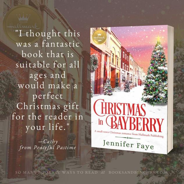 """""""Heartwarming"""" - CHRISTMAS IN BAYBERRY by Jennifer Faye - Excerpt"""
