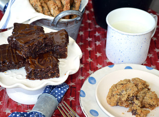 Tilly's Brownies (Frosted Fudge Brownies with Caramel) ~ Writer in the Kitchen
