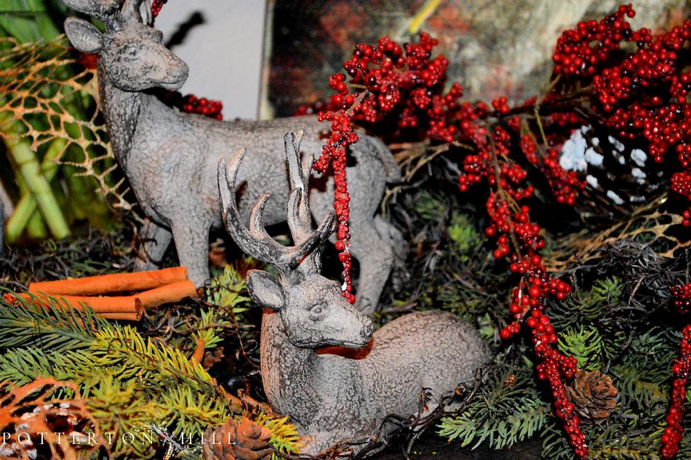 Christmas is Coming_PottertonHill.com_Christmas vignette