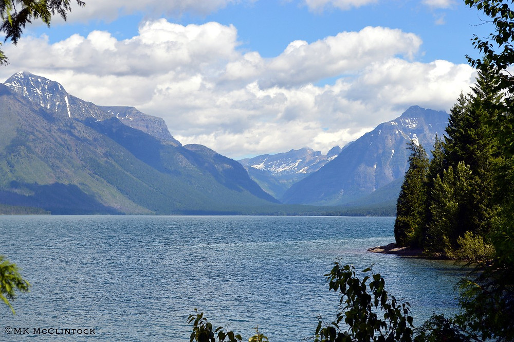 Glacier National Park - author MK McClintock - #mountains #bliss #lake #Montana