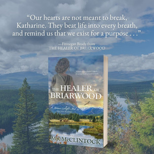 """Beautiful"" - The Healer of Briarwood by MK McClintock - Interview"