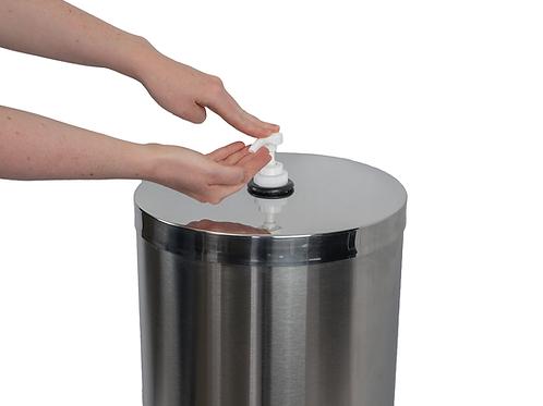 Stainless Steel Sanitizer Dispenser & Sanitizer