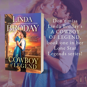 A COWBOY OF LEGEND by Linda Broday - Hell's Half Acre