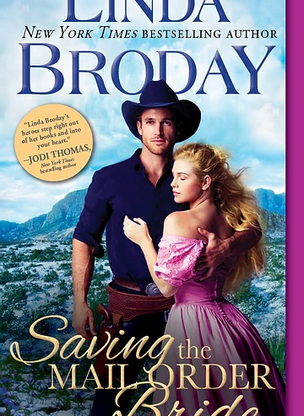 Excerpt from Saving the Mail Order Bride by Linda Broday
